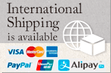 International Shipping is available