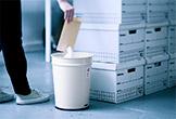 ロングライフデザイン賞受賞、どこか懐かしいゴミ箱